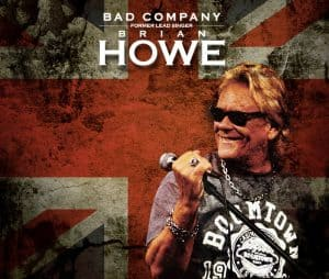 Bad Company, Former Lead Singer Brian Howe